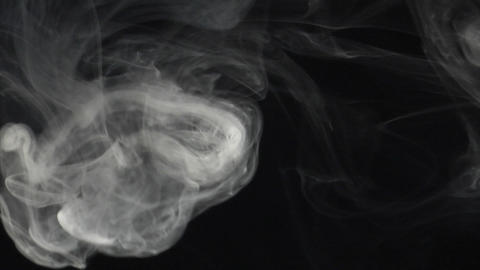 Smoke series: The Rings Stock Video Footage