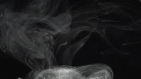 Smoke series: The Rings Stock Video Footage
