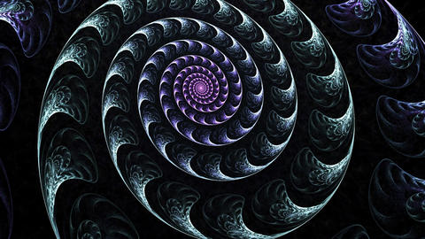 Spiral glow Stock Video Footage