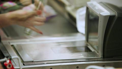 Supermarket timelapse 06 Footage