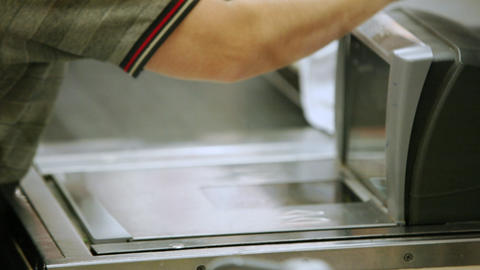Supermarket timelapse 06 Stock Video Footage
