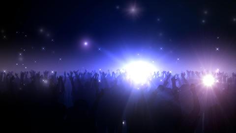 Live Hall Flash LO 2 Stock Video Footage