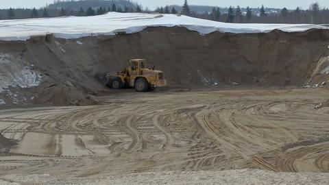 sand pit Footage