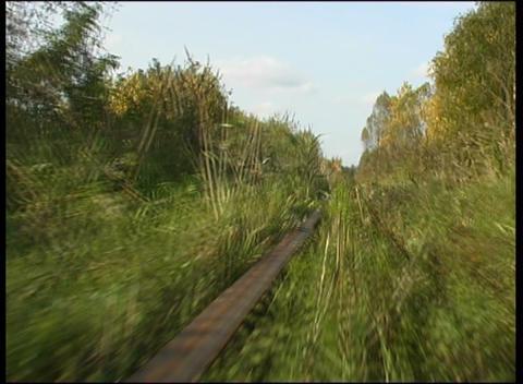 narrow-gauge railway Stock Video Footage