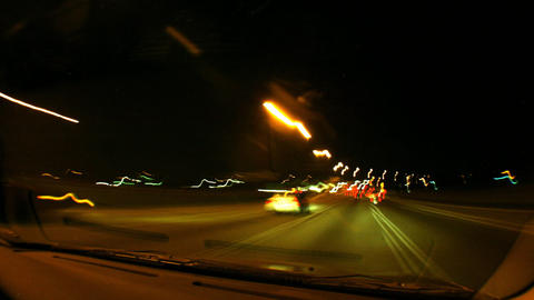 Speedy cameracar timelapse 02 Stock Video Footage