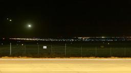 Landing Planes timelapse Stock Video Footage