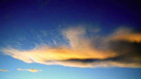 Colorado sunset timelapse 02 Stock Video Footage
