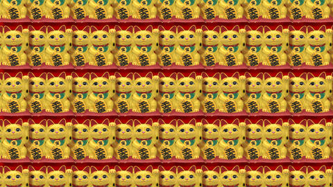 Beckoning Cat Back Tile G4 Animation