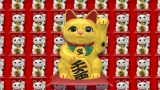 Beckoning Cat G Sa 2 stock footage