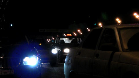 night city road Stock Video Footage