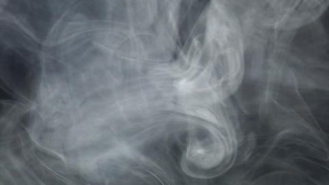 Smoke series: waving alien smoke 1of2 Stock Video Footage