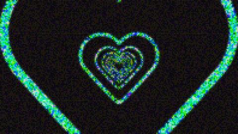 heart waves 動画素材, ムービー映像素材