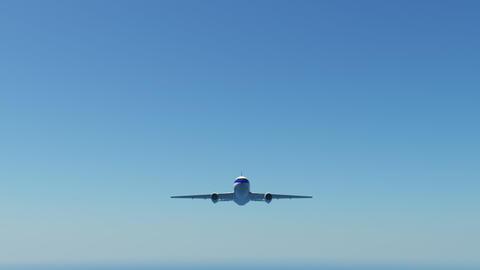 Airplane B aa Stock Video Footage