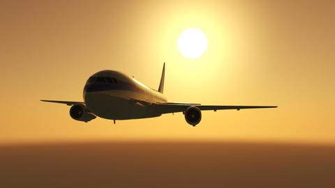 Airplane C c Stock Video Footage