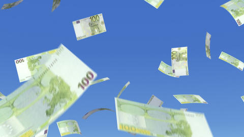 Money Euro L b Stock Video Footage