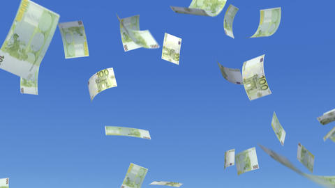 Money Euro L b Stock Video Footage