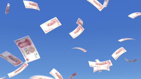 Money RMB L b Stock Video Footage