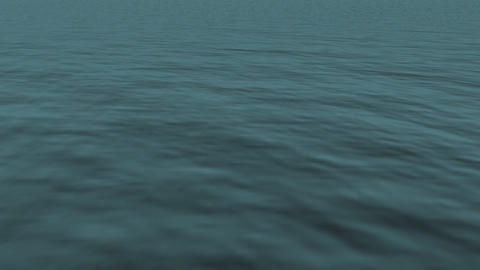loopable realistic FullHd 3d sea / ocean / lake Stock Video Footage