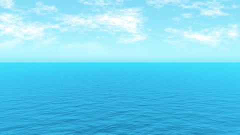 Loopable FullHd 3d sea Animation