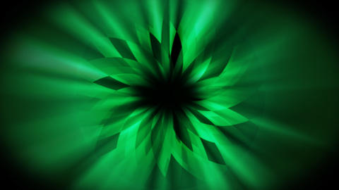 Loopable dark green background Animation