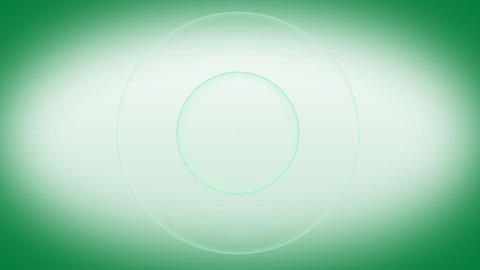 loopable Green Background with smooth waves Animation