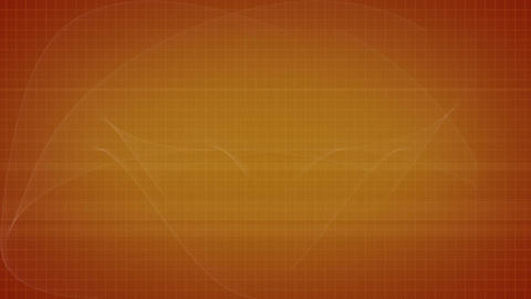 Orange background with a flying object Animation