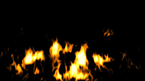 Fire explosion background effect with alpha channel Animation