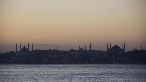 Hagia Sophia and Blue Mosque Footage