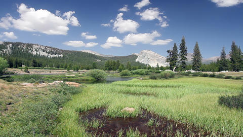 Tuolumne Meadows Time Lapse Footage
