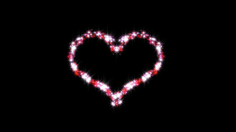 heart animation with alpha channel Animation