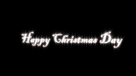 Title of Christmas day Animation
