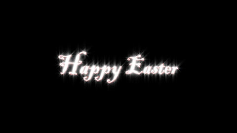 Title of easter Animation