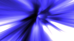 Twisting streaking blue tunnel loop 2 Animation