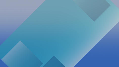 Abstract blue dynamic background loop Footage