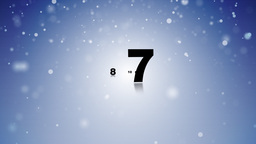 Countdown (new Year) stock footage