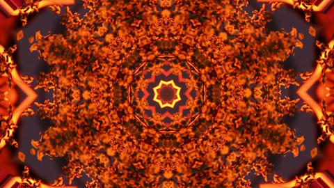 Fire Colors Vj Loop stock footage