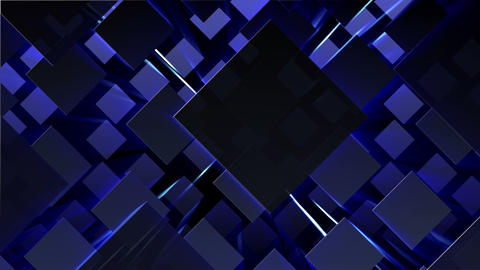 Simple background Diamond L neon 4k Animation