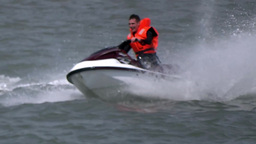 Jet Skiing 2 stock footage