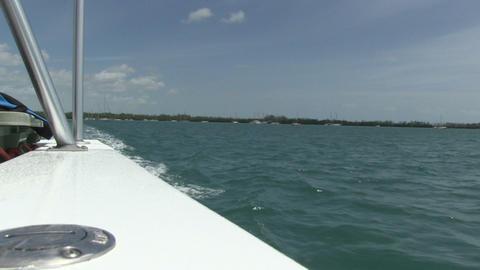 Florida keys from Sailing Boat Live Action