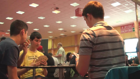 Bucharest, May The 10th, East European Comic Con B stock footage