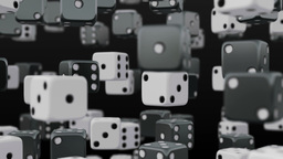 Dice Background stock footage