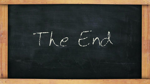 The End Main stock footage