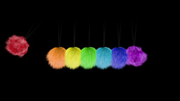 Newtons Hairballs Animation