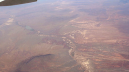 Tilt View From Plane stock footage