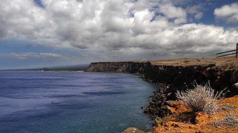 Ocean Cliffs Time Lapse Live Action
