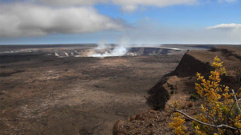 Kilauea Crater stock footage