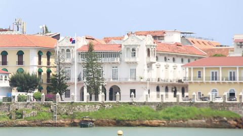 Presidential Palace Panama City Capital Panama Cen Live Action