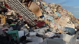 Garbage mountain - garbage dump, landfill 2 Live Action