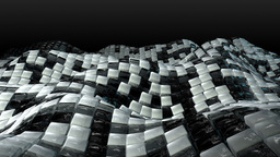Moody Sea Of Cubes stock footage