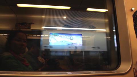 Railway trip Footage